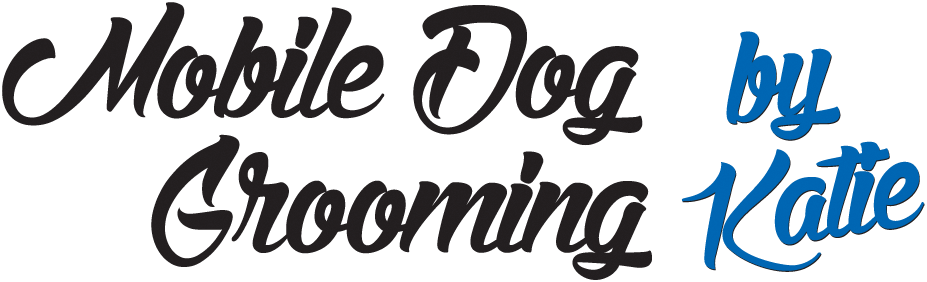 logo mobile dog grooming by katie